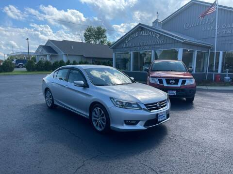 2015 Honda Accord for sale at Empire Alliance Inc. in West Coxsackie NY