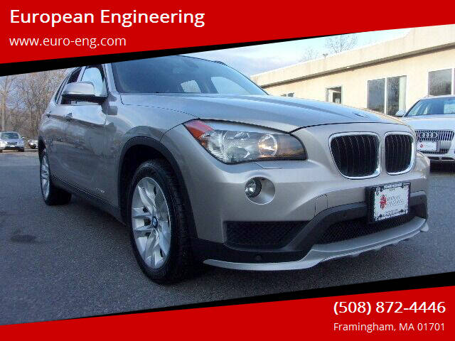 2015 BMW X1 for sale at European Engineering in Framingham MA