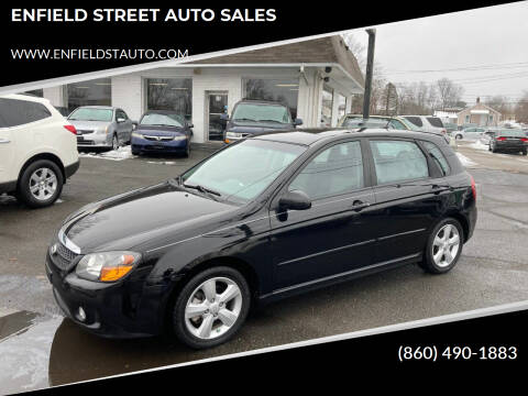 2008 Kia Spectra for sale at ENFIELD STREET AUTO SALES in Enfield CT