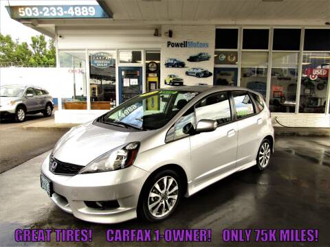 2013 Honda Fit for sale at Powell Motors Inc in Portland OR