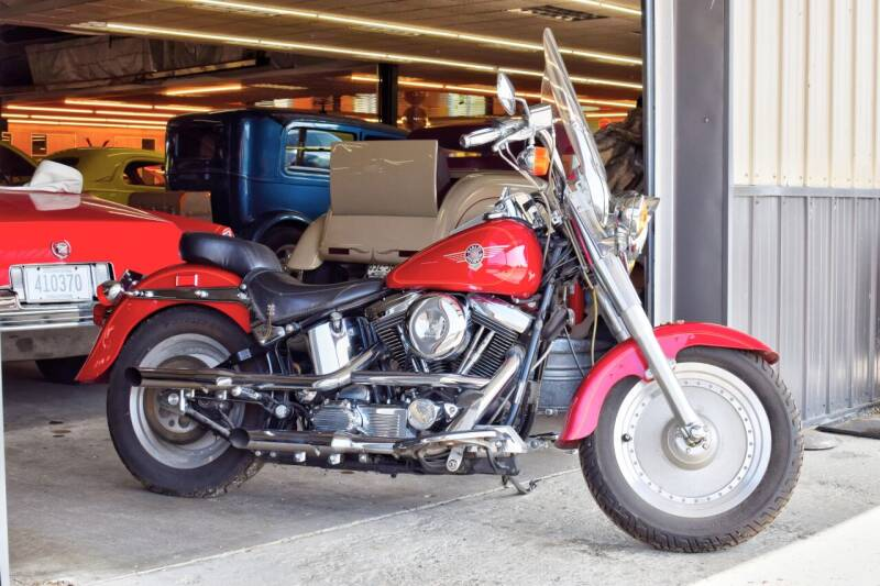 1994 Harley-Davidson Fat Boy for sale at Hooked On Classics in Watertown MN