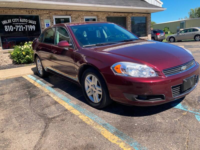 2007 Chevrolet Impala for sale at Imlay City Auto Sales LLC. in Imlay City MI