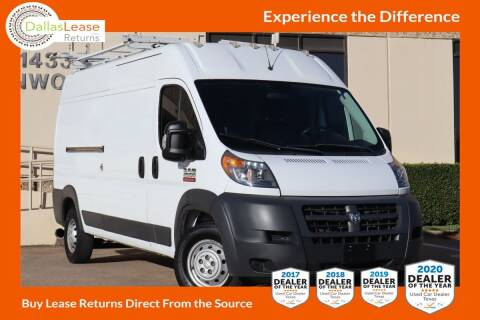 2017 RAM ProMaster Cargo for sale at Dallas Auto Finance in Dallas TX