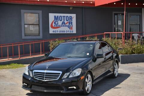 2011 Mercedes-Benz E-Class for sale at Motor Car Concepts II - Kirkman Location in Orlando FL