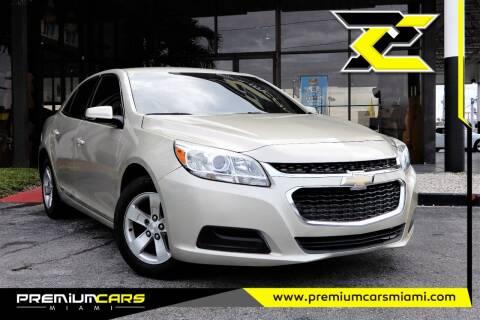 2016 Chevrolet Malibu Limited for sale at Premium Cars of Miami in Miami FL