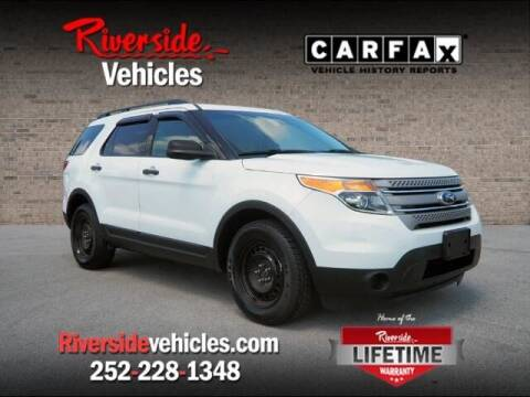 2014 Ford Explorer for sale at Riverside Mitsubishi(New Bern Auto Mart) in New Bern NC