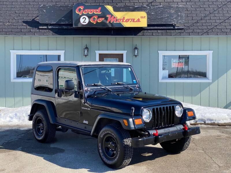 2003 Jeep Wrangler for sale at Good 2 Go Motors LLC in Adrian MI