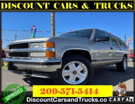 1999 Chevrolet Suburban for sale at Discount Cars & Trucks in Modesto CA