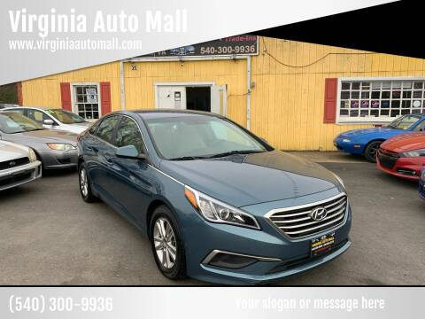 2017 Hyundai Sonata for sale at Virginia Auto Mall in Woodford VA