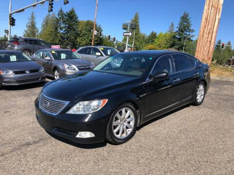 2007 Lexus LS 460 for sale at KARMA AUTO SALES in Federal Way WA