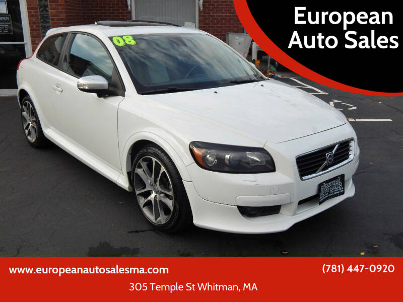 2008 Volvo C30 for sale at European Auto Sales in Whitman MA