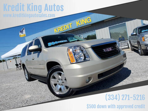 2008 GMC Yukon XL for sale at Kredit King Autos in Montgomery AL