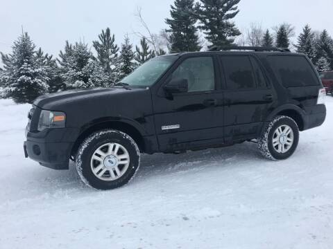 2008 Ford Expedition for sale at BLAESER AUTO LLC in Chippewa Falls WI
