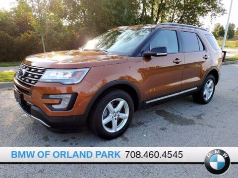 2017 Ford Explorer for sale at BMW OF ORLAND PARK in Orland Park IL