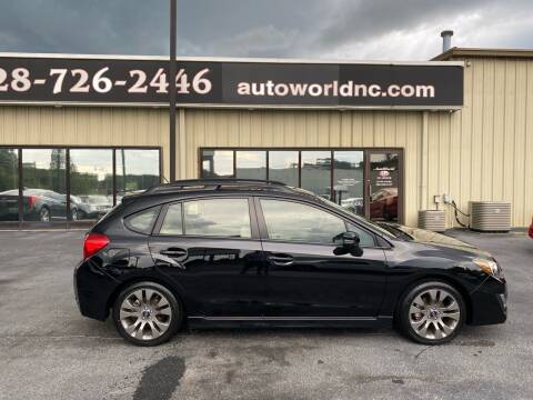 2015 Subaru Impreza for sale at AutoWorld of Lenoir in Lenoir NC