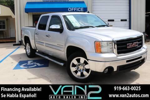 2011 GMC Sierra 1500 for sale at Van 2 Auto Sales Inc in Siler City NC