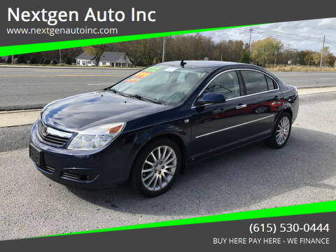 2008 Saturn Aura for sale at Nextgen Auto Inc in Smithville TN