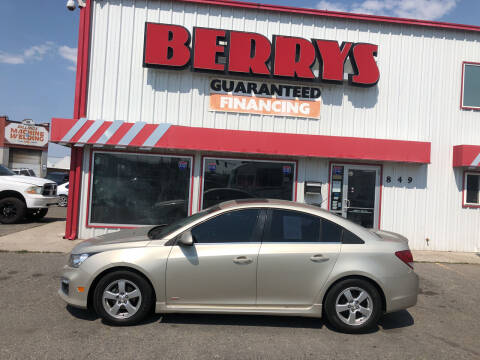 2016 Chevrolet Cruze Limited for sale at Berry's Cherries Auto in Billings MT