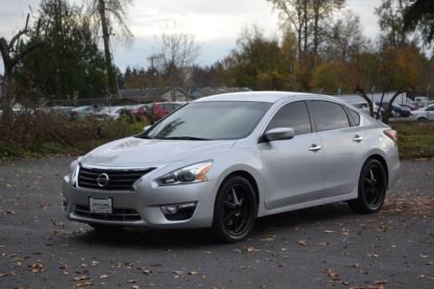 2013 Nissan Altima for sale at Skyline Motors Auto Sales in Tacoma WA