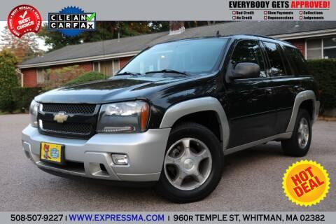2008 Chevrolet TrailBlazer for sale at Auto Sales Express in Whitman MA