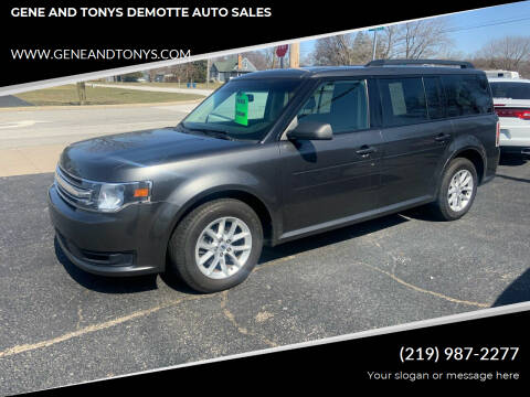 2015 Ford Flex for sale at GENE AND TONYS DEMOTTE AUTO SALES in Demotte IN