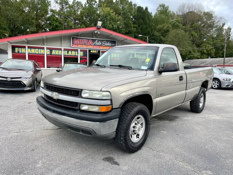 2002 Chevrolet Silverado 2500 for sale at Mira Auto Sales in Raleigh NC