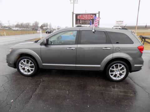 2012 Dodge Journey for sale at MYLENBUSCH AUTO SOURCE in O` Fallon MO
