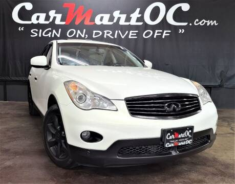 2008 Infiniti EX35 for sale at CarMart OC in Costa Mesa, Orange County CA