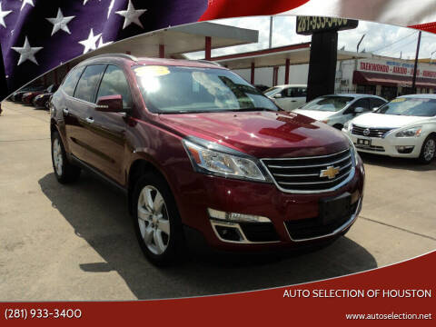 2017 Chevrolet Traverse for sale at Auto Selection of Houston in Houston TX