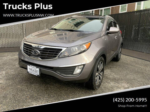 2012 Kia Sportage for sale at Trucks Plus in Seattle WA