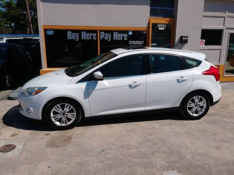 2012 Ford Focus for sale at QUALITY AUTO SALES OF FLORIDA in New Port Richey FL