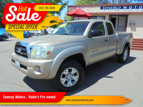 2008 Toyota Tacoma for sale at Synergy Motors - Nader's Pre-owned in Santa Rosa CA