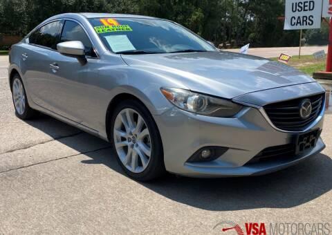 2014 Mazda MAZDA6 for sale at VSA MotorCars in Cypress TX