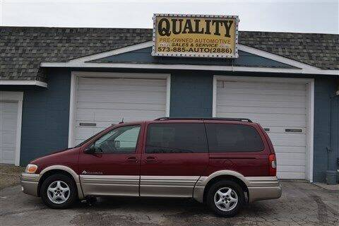 2004 Pontiac Montana for sale at Quality Pre-Owned Automotive in Cuba MO