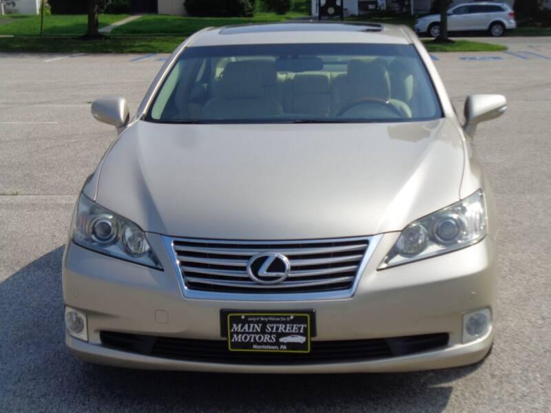 2012 Lexus ES 350 for sale in Norristown, PA