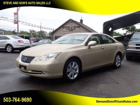 2007 Lexus ES 350 for sale at Steve & Sons Auto Sales in Happy Valley OR