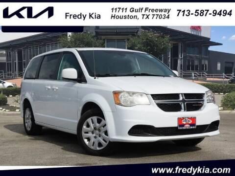 2019 Dodge Grand Caravan for sale at FREDY KIA USED CARS in Houston TX