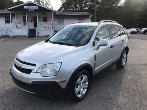 2014 Chevrolet Captiva Sport for sale at CVC AUTO SALES in Durham NC