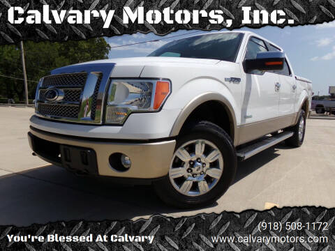 2011 Ford F-150 for sale at Calvary Motors, Inc. in Bixby OK