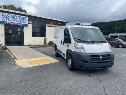 2017 RAM ProMaster Cargo for sale at S & S Motors in Marietta GA