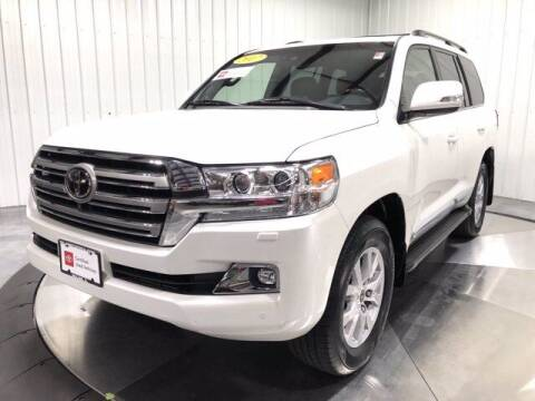 2017 Toyota Land Cruiser for sale at HILAND TOYOTA in Moline IL