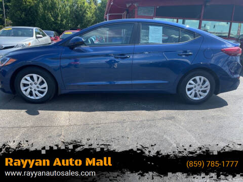 2018 Hyundai Elantra for sale at Rayyan Auto Mall in Lexington KY
