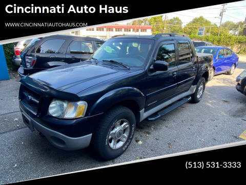 2001 Ford Explorer Sport Trac for sale at Cincinnati Auto Haus in Cincinnati OH