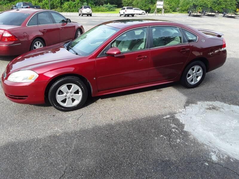 2009 Chevrolet Impala for sale at WALKER MOTORS LLC in Hattiesburg MS