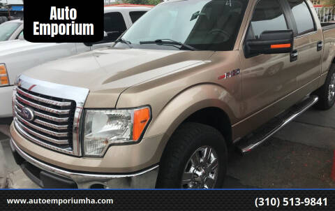 2011 Ford F-150 for sale at Auto Emporium in Wilmington CA