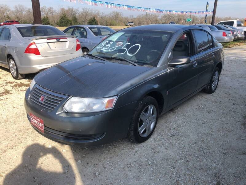 2007 Saturn Ion for sale at Knight Motor Company in Bryan TX