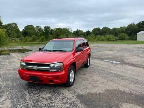 2002 Chevrolet TrailBlazer for sale at Caruzin Motors in Flint MI