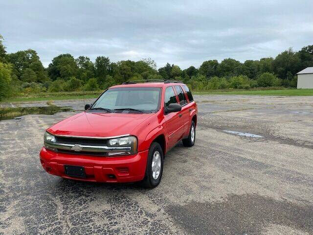 2002 Chevrolet TrailBlazer for sale at Caruzin Motors in Flint MI