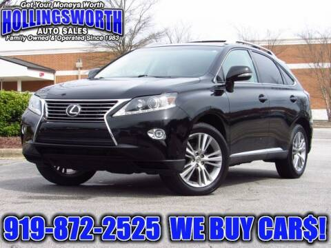2015 Lexus RX 350 for sale at Hollingsworth Auto Sales in Raleigh NC