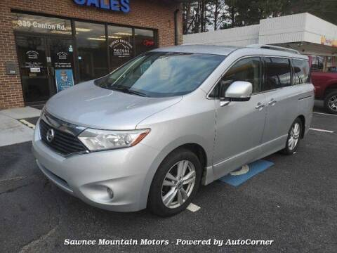 2012 Nissan Quest for sale at Michael D Stout in Cumming GA